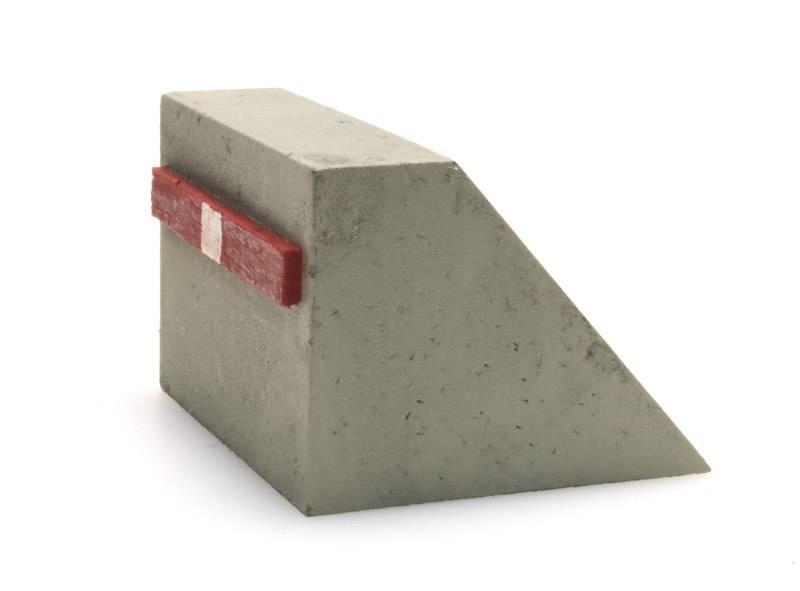 Prellbock aus Beton