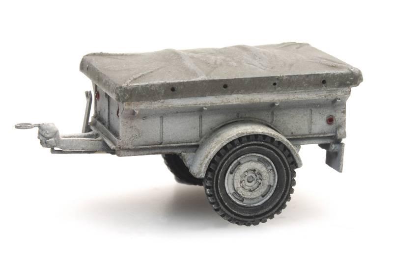 Aanhanger Nekaf 1/4 ton UNIFIL