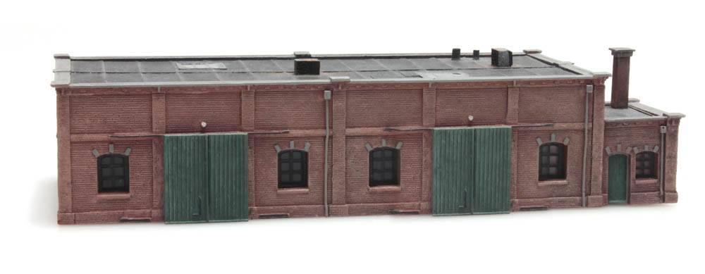 Lagergebäude aus Ziegelstein