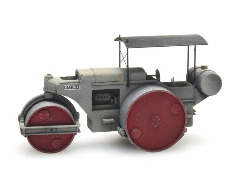 Road roller Kaelble gray