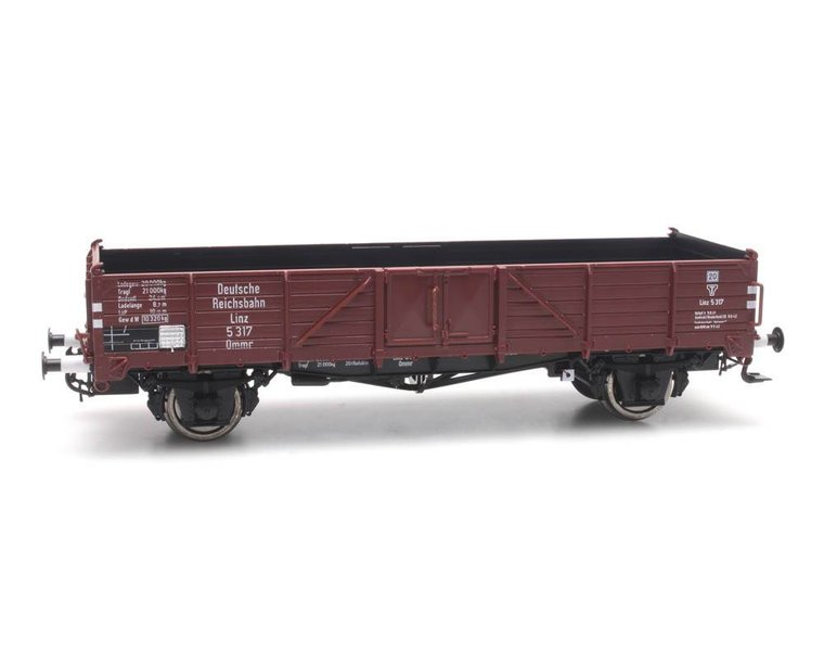 Open goods wagon Ommr 32 Linz, DRB 5 317