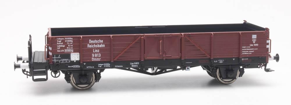 Offener Güterwagen Ommr 32 Linz, DRB 9 813