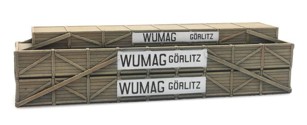Cargo: Shipping crate Wumag Görlitz