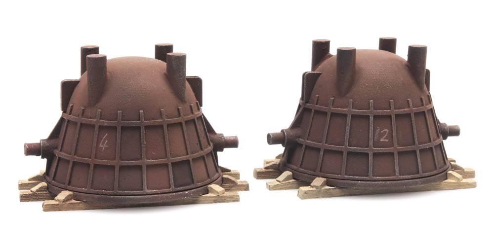 Cargo: Two slag ladles