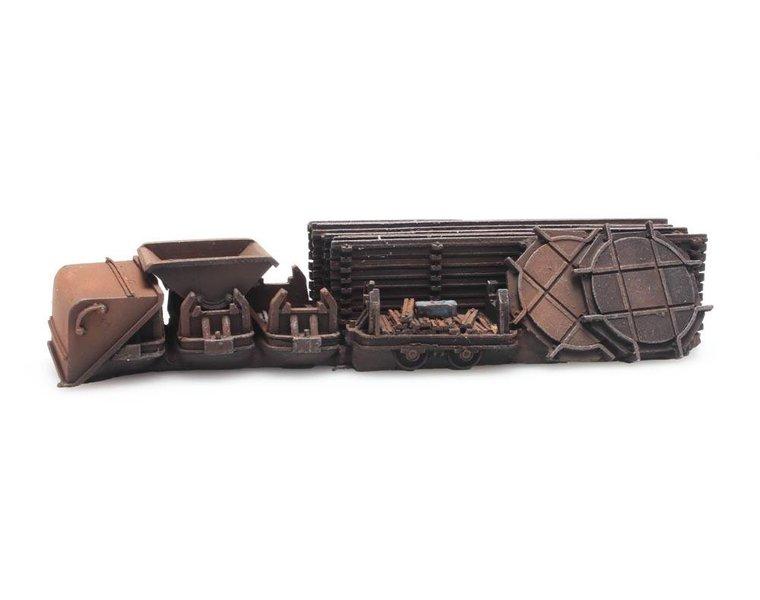Ladung: Glesen und drei Trümmerbanhloren