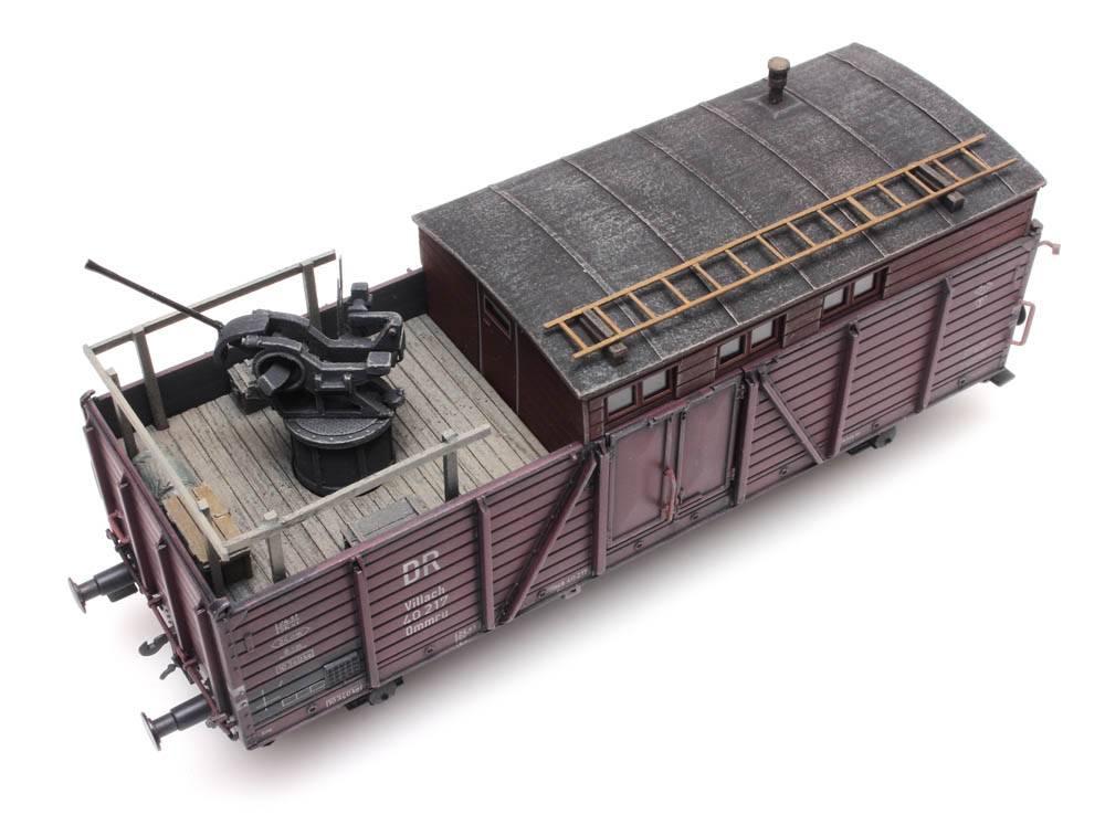 Eisenbahn Flakstand 20mm voor Villach