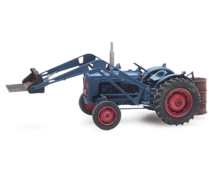 Traktor Fordson met voorlader