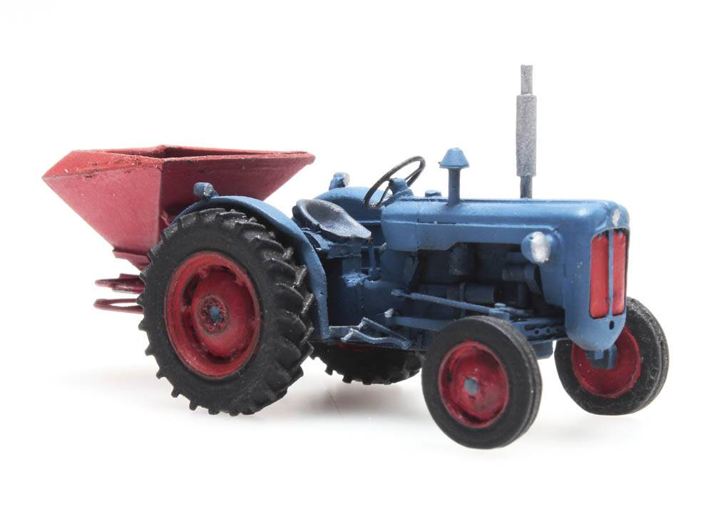 Broadcast Spreaders For Tractors : Fordson tractor with broadcast spreader artitecshop