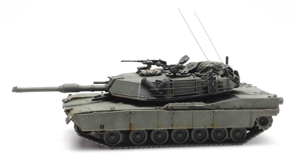 M1 Abrams grün