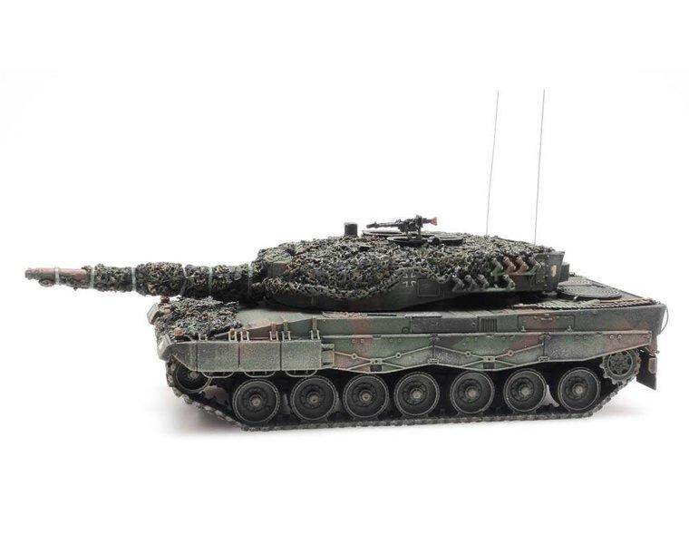 Leopard 2A4 Flecktarnung Gefechtsklar
