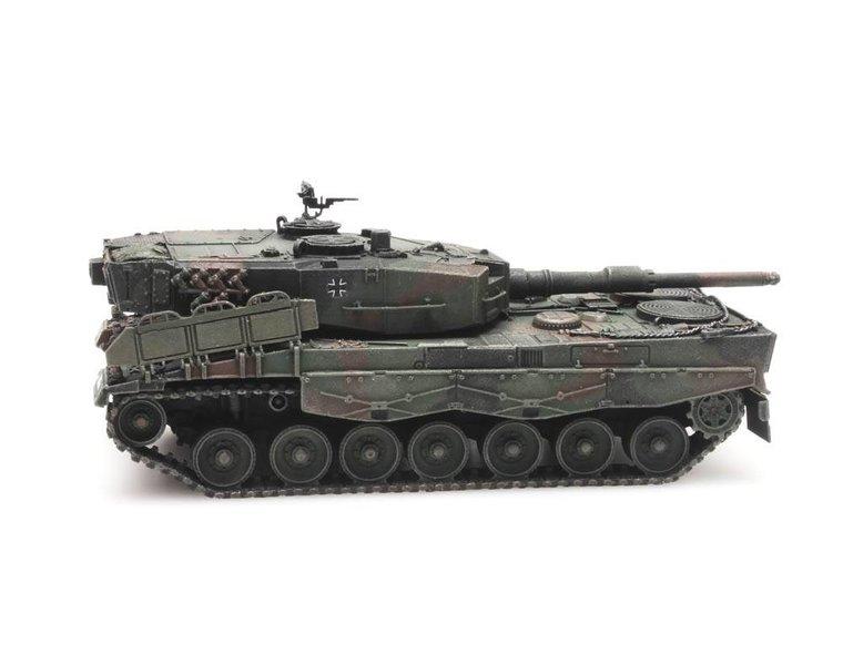 Leopard 2A4 Flecktarnung Eisenbahntransport