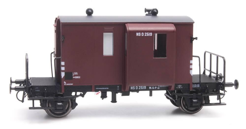 Güterzugbegleitwagen DG D NS 2519 braun