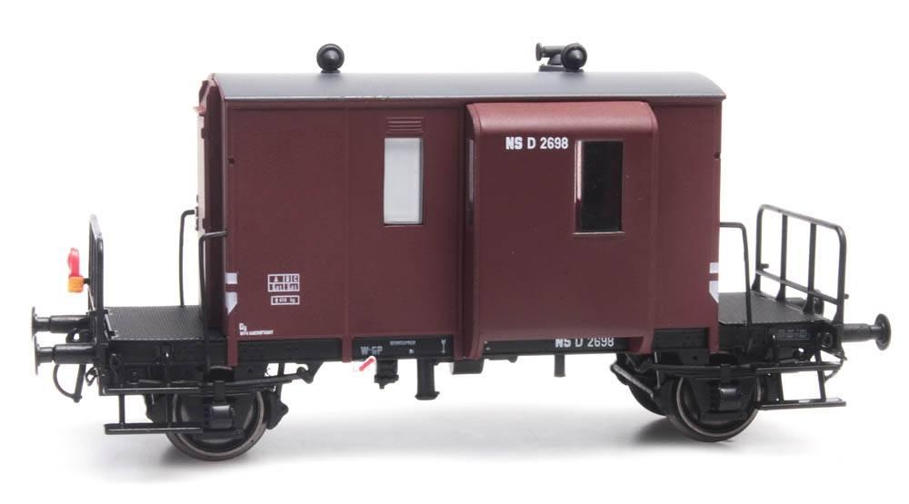 Güterzugbegleitwagen DG D NS 2698 braun