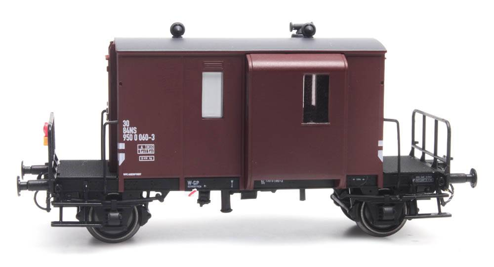 Güterzugbegleitwagen DG NS 060-3 braun