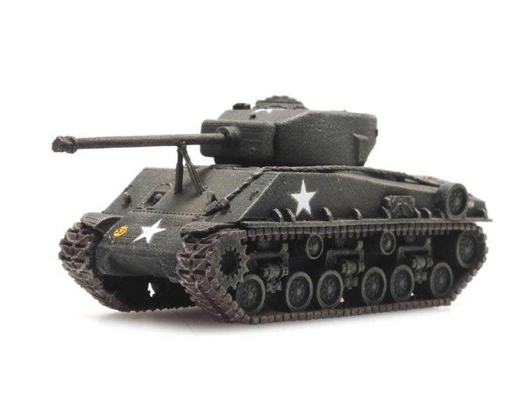 US Sherman M4A3 E8 train load