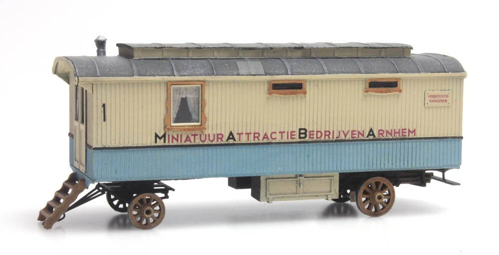 Fairground living wagon