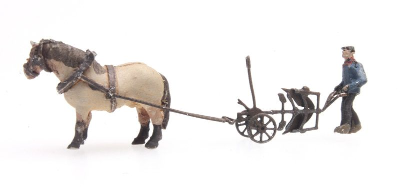 Paard en ploeg