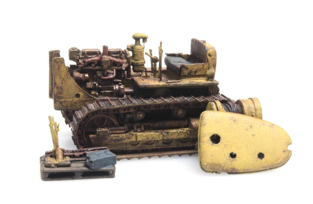 Bulldozer D7 verroest (RIP-Serie)
