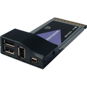 PCMCIA Combo Kaart USB2.0 + Firewire IEE1394
