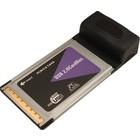 PCMCIA 4 Poort USB 2.0 Kaart