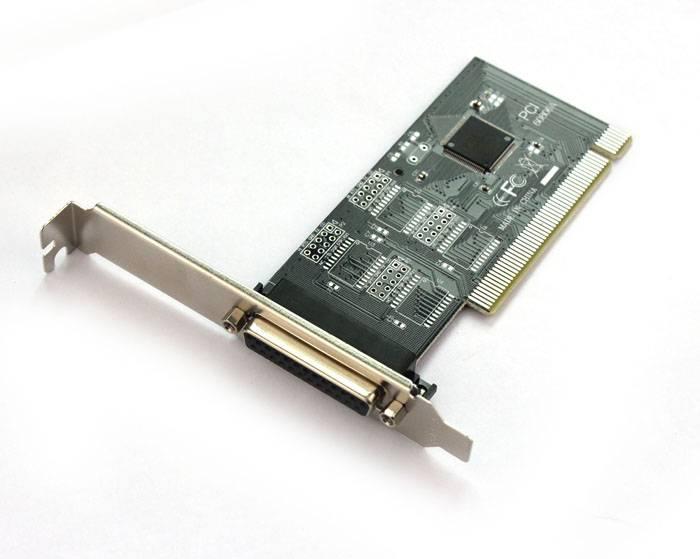 PCI Parallel IEEE 1284 Printer Poort Kaart