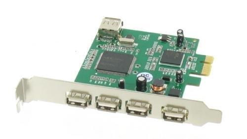PCI Express 5 Poorts USB 2.0 Kaart