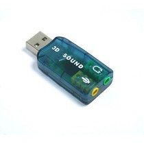 USB Sound Audio Controller Adapter 3D 5.1 GAME DVD
