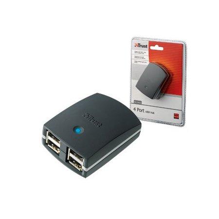 USB HUB 4 poort Trust HU-1240Tp