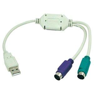 USB naar 2 x PS/2 Adapter