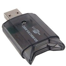 USB 2.0 SDHC Card Reader