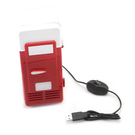 USB Mini Koelkast Rood