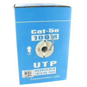 UTP CAT5e 100 Meter Rol Netwerkkabel