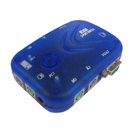 2 Poort Automatische KVM Switch