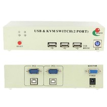 2 Poort USB KVM Switch