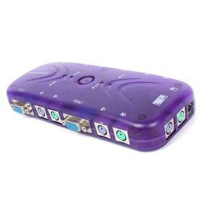 4 Poort KVM Switch