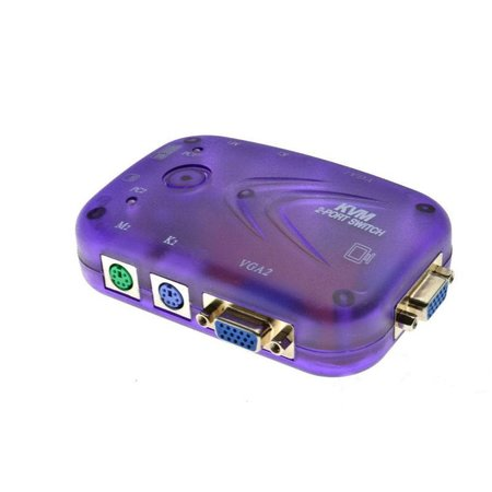 2 Poort KVM Switch