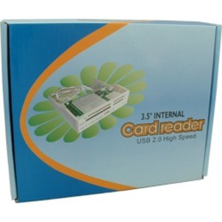 All in 1 3,5 Grey Panel Cardreader