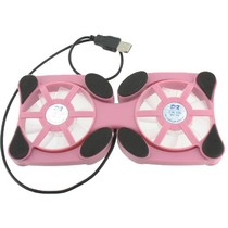 Mini Laptop Koeler Stand Roze