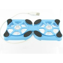Mini Laptop Koeler Stand Blauw