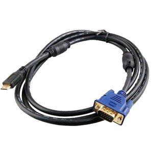 Mini HDMI naar VGA Kabel 1,8 Meter