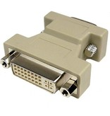 DVI Female naar VGA Male Adapter