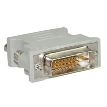 DVI 24+1 Male naar VGA Female Adapter