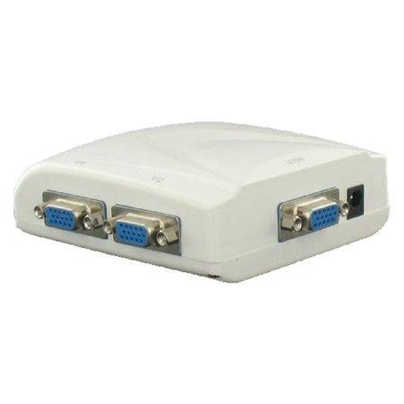 VGA 4-weg monitor Splitter