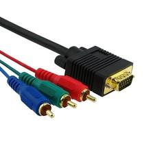 VGA Male naar RGB Male Kabel