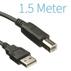 USB A - B - Printer Kabel 1,5 Meter