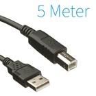 USB A - B - Printer Kabel 5 Meter