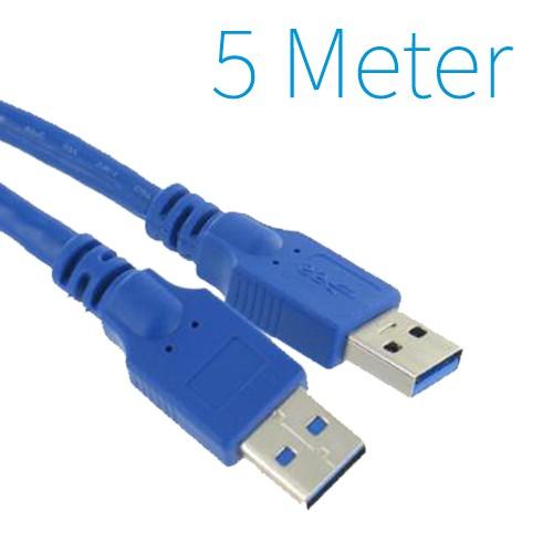 USB 3.0 Male - Male Kabel 5 Meter