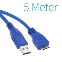 USB 3.0 A - Micro B Kabel 5 Meter