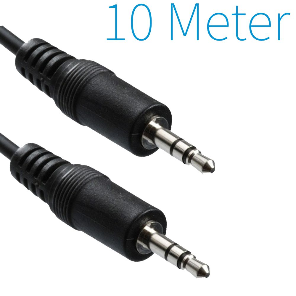 3,5mm Audio Jack Kabel 10 Meter