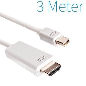 Mini Display Port Naar HDMI Kabel 3 Meter